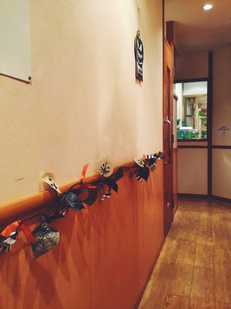 ハロウィン,halloween,デコレーション,飾り付け,五反田校
