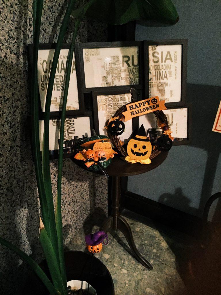 ハロウィン,halloween,デコレーション,飾り付け,有楽町校