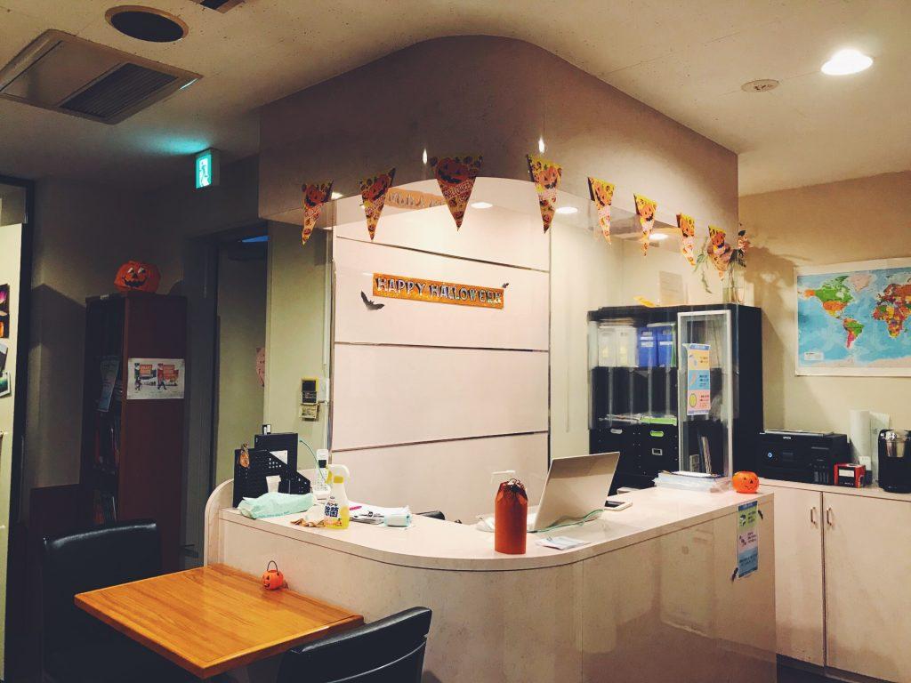 ハロウィン,halloween,デコレーション,飾り付け,新宿南口校