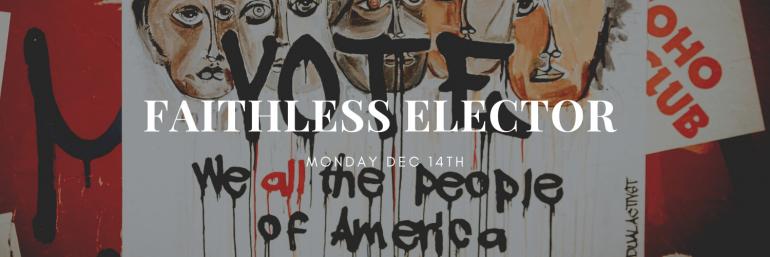 アメリカ大統領選挙,選挙人,faithless elector,ヒラリー・クリントン,ドナルド・トランプ,法律,誓約