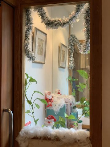 Christmas,クリスマス,デコレーション,飾り付け,五反田校,英会話