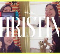 Christinaってどんな先生?【YouTubeに動画がUPされました!】